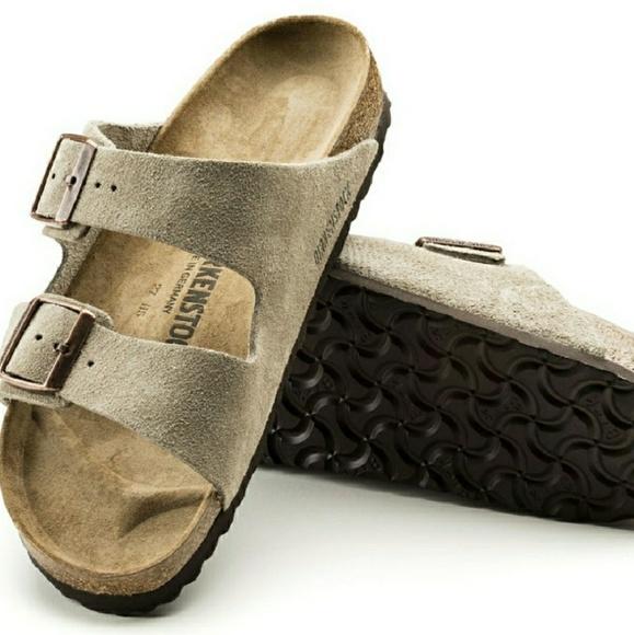 1f7636a71d6 Birkenstock Arizona Soft Footbed Suede Sandals